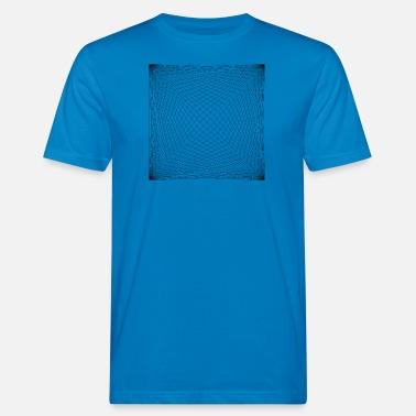 574bb69a6 Diseño Patrón diseño de la línea - Camiseta orgánica hombre
