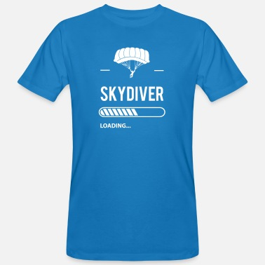 Skydive Skydiver loading - T-shirt bio Homme