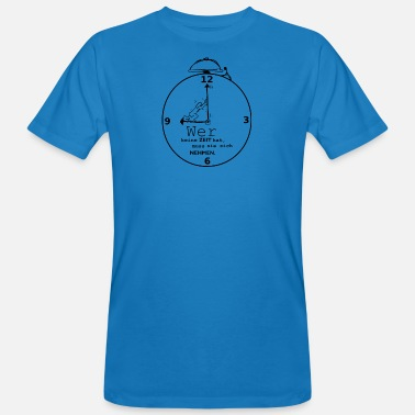 Time out, saying, relaxing, taking your time - Men's Organic T-Shirt