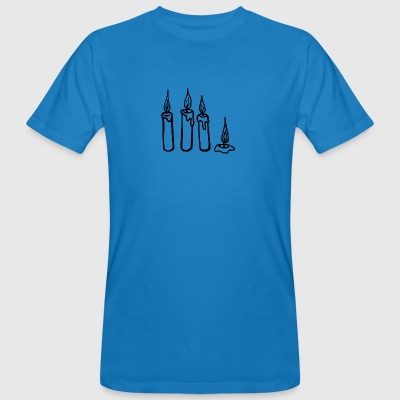 candles - Men's Organic T-shirt