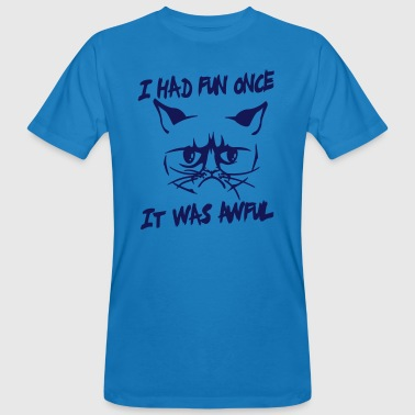 I had fun once, it was awful - Men's Organic T-shirt