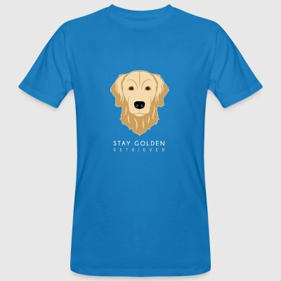 Golden Retriever - T-shirt ecologica da uomo
