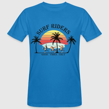 surf riders - T-shirt bio Homme