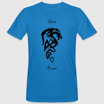 Tribal dragon - Men's Organic T-shirt