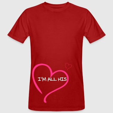 Couple I am all His - Mannen Bio-T-shirt