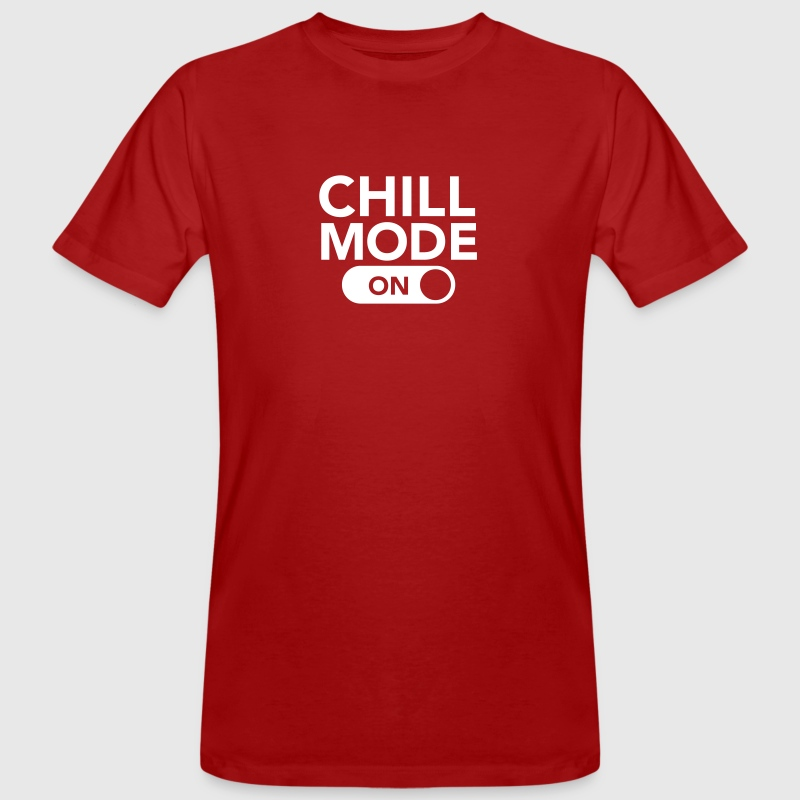 Chill Mode (On) - Men's Organic T-shirt