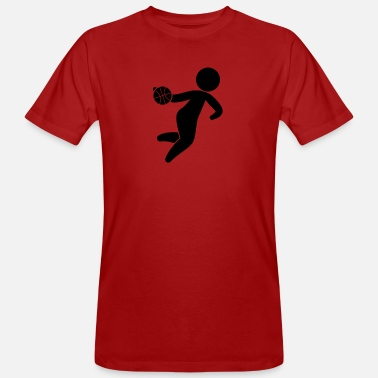 James A Basketball Player - Men's Organic T-Shirt