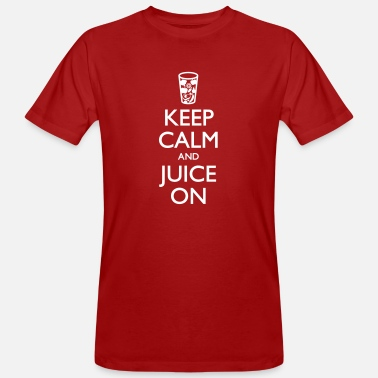 Juicemaster Keep Calm And Juice On 2 - Men's Organic T-Shirt