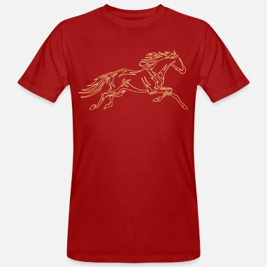 Freed Free Spirit wild horse - freed horse wild horse - Men's Organic T-Shirt