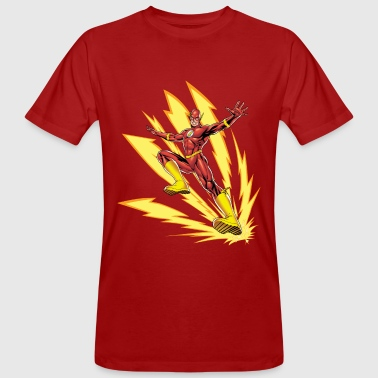DC Comics Ligue De Justice D'Amérique Flash - T-shirt bio Homme