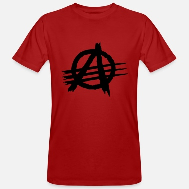 Anarkia AGAINST ALL AUTHORITIES - Camiseta ecológica hombre