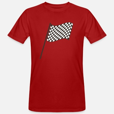 Racing Flag racing flag - Men's Organic T-Shirt