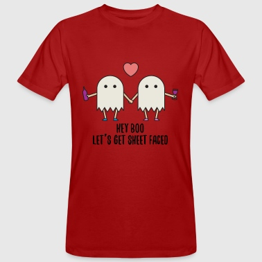 Halloween ghost ghost costume gift funny - Men's Organic T-Shirt