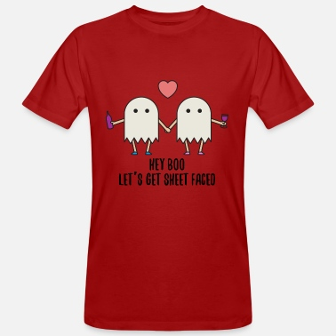 Ghosts Halloween ghost ghost costume gift funny - Men's Organic T-Shirt