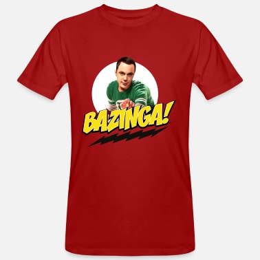 The Big Bang Theory   - Ekologisk T-shirt herr