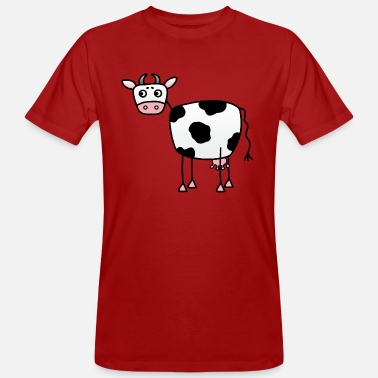 Cow Udder Funny cow with udder - Men's Organic T-Shirt