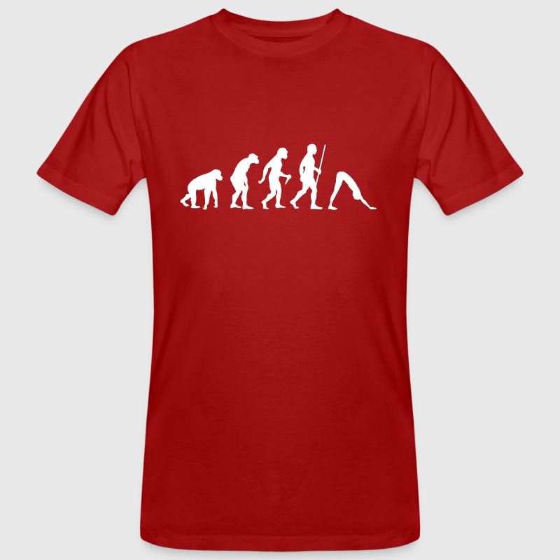Evolution Yoga - Men's Organic T-shirt