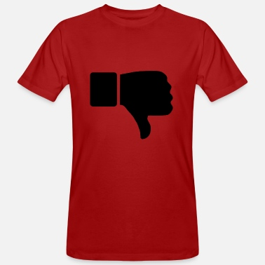 Thumbs Down thumbs down - Men's Organic T-Shirt