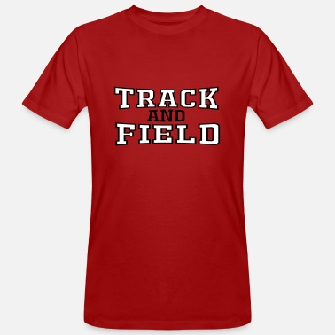 Track And Field Track and field - Men's Organic T-Shirt