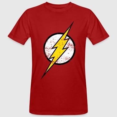 The Flash Logo vintage - T-shirt bio Homme