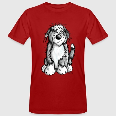 Mignon Bearded Collie - T-shirt bio Homme