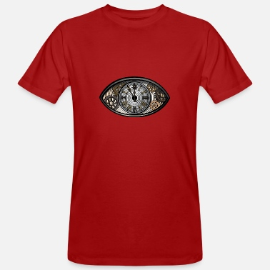 Graphic Art Vintage Eye 2 - Men's Organic T-Shirt