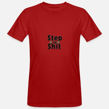 Step Brothers Stap in de stront - Mannen Bio-T-shirt