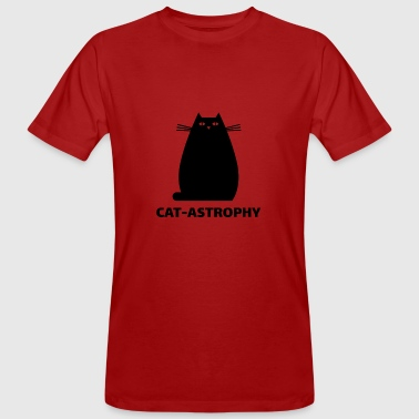 Gros Titres Cat Astrophy Thick Cat Funny Gift - T-shirt bio Homme