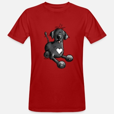 Labbi Lover Labbi Love - Labrador Retriever - Männer Bio-T-Shirt