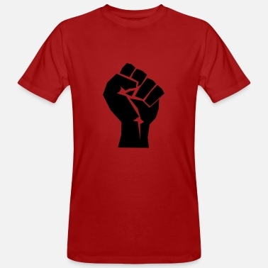 Revolution Fist politics revolution gift body hand - Men's Organic T-Shirt
