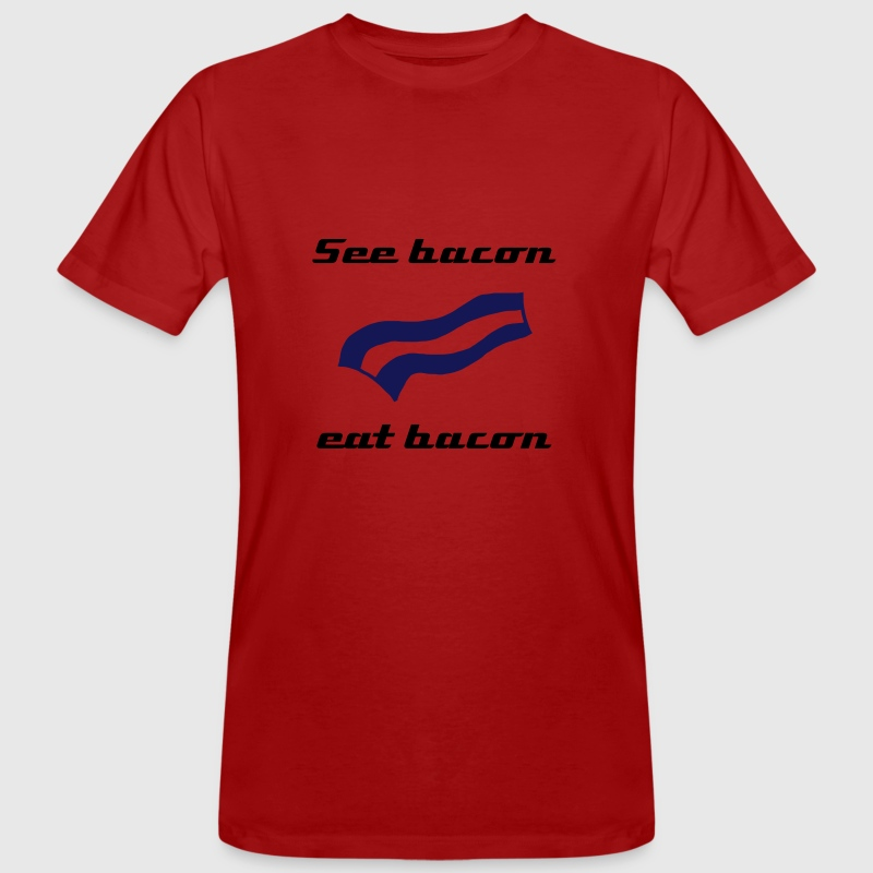 Crispy bacon - Men's Organic T-shirt