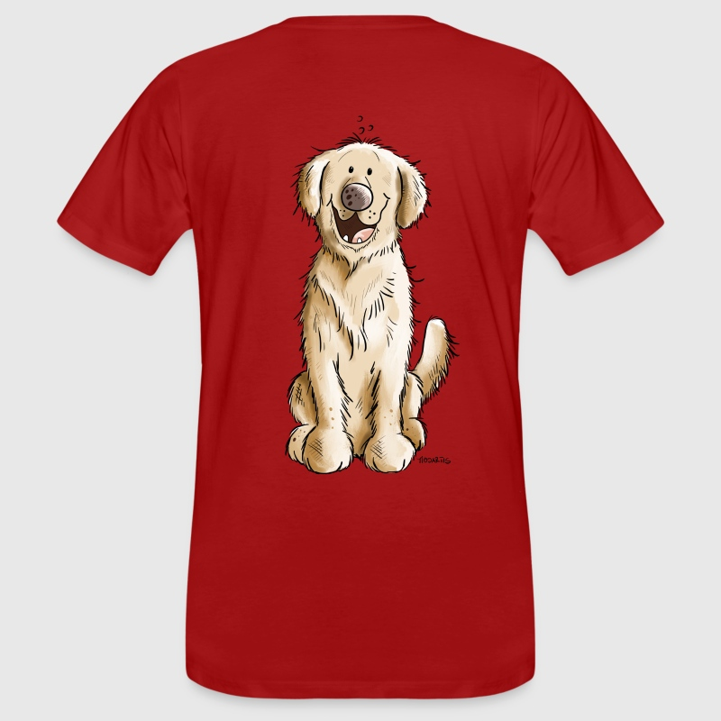 Golden Golden Retriever - Men's Organic T-shirt