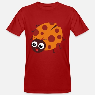 Crawl Snake Crawling ladybug - Men's Organic T-Shirt