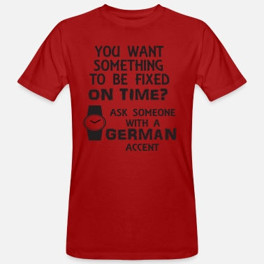 Accent German accent - Men's Organic T-Shirt