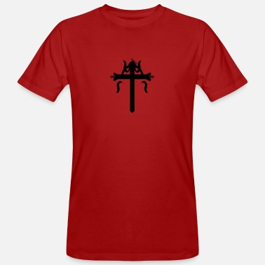 Crucifix crucifix - Men's Organic T-Shirt