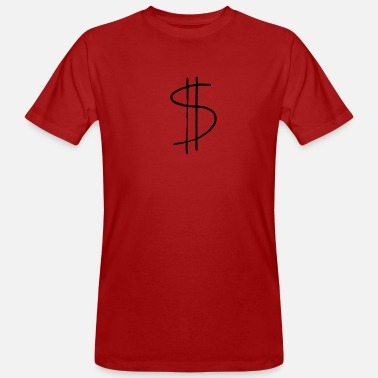 Dollar dollar sign - Men's Organic T-Shirt