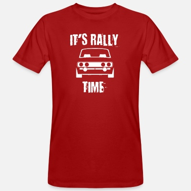 Rally Its Rally Time - Men's Organic T-Shirt