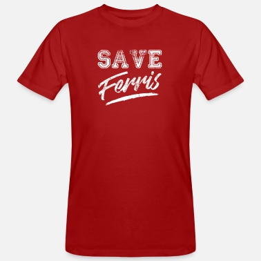 Movie Save Ferris 80s Cult Movie shirt - Men's Organic T-Shirt