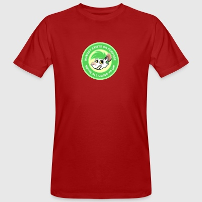 NOBODY EXISTS ON PURPOSE - GREEN - Männer Bio-T-Shirt