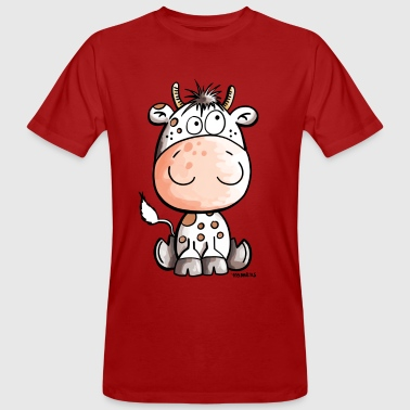 Funny Cow - Cows - Baby - Gift - Calf - Men's Organic T-shirt