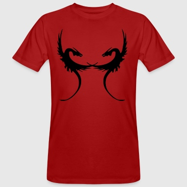 Dragons crossed - Men's Organic T-shirt