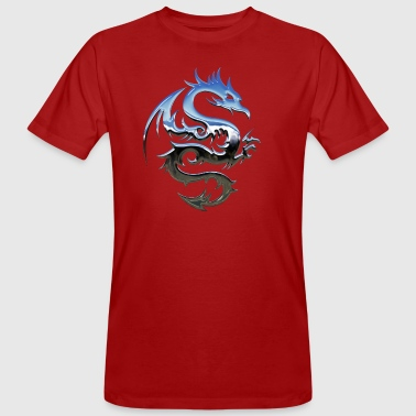 tribal dragon - T-shirt bio Homme