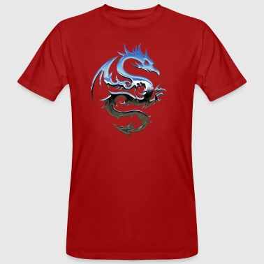 dragon Tribal - Mannen Bio-T-shirt