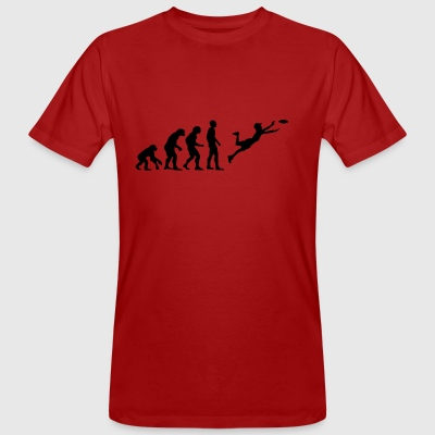 Ultimate Frisbee Evolution - Männer Bio-T-Shirt