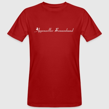 Appenzeller Sennenhund purebred dog, dog breed - Men's Organic T-shirt