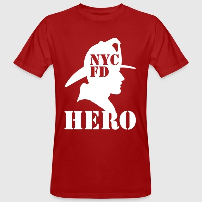 nycfd wite - Ekologisk T-shirt herr
