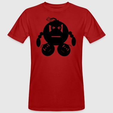 Man of explotions - Männer Bio-T-Shirt
