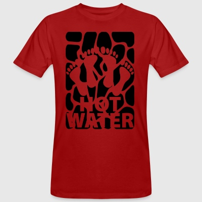 hotwater blak - Men's Organic T-shirt