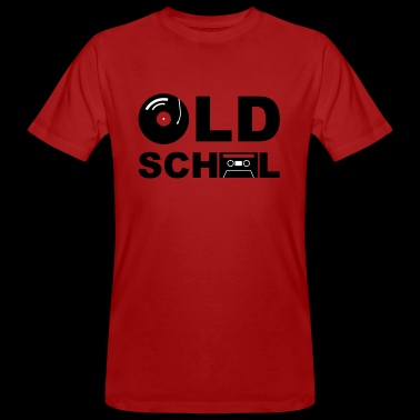 Old School - Männer Bio-T-Shirt