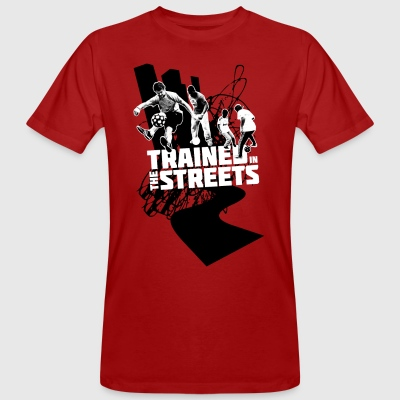 Trained in the Streets - Men's Organic T-shirt